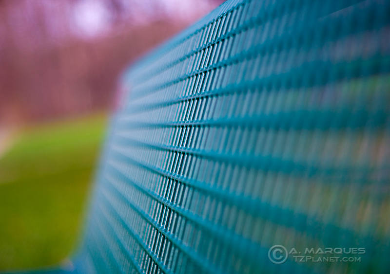 Half Bench - Shallow Depth of Field on a park bench.
